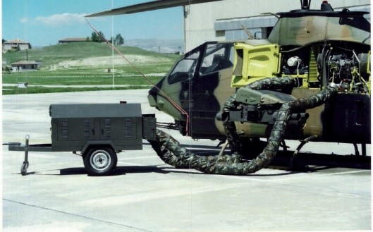 PCA GPU Military Helicopter